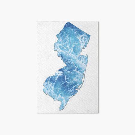New Jersey Art Board Print