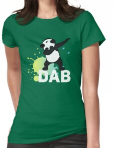 DAB keep calm and dab dabber dance football touch down Womens Fitted T-Shirt