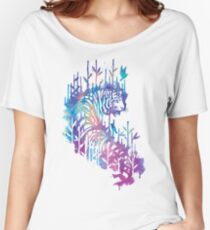 Watercolor tiger Women's Relaxed Fit T-Shirt