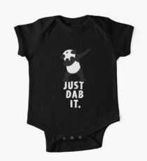 DAB PANDA dab just dab it dabber dance football touch down red Kids Clothes