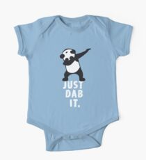 DAB PANDA dab just dab it dabber dance football touch down red One Piece - Short Sleeve