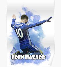 Eden Hazard Art - Chelsea Poster