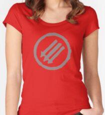 AntiFa Women's Fitted Scoop T-Shirt