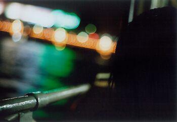 Abstract lights 1 - hong kong by Oliver Lawrance