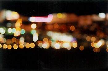 Abstract Lights 2 - Mexico by Oliver Lawrance