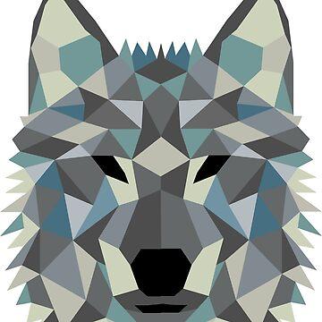 Crystal Wolf by Wuiye