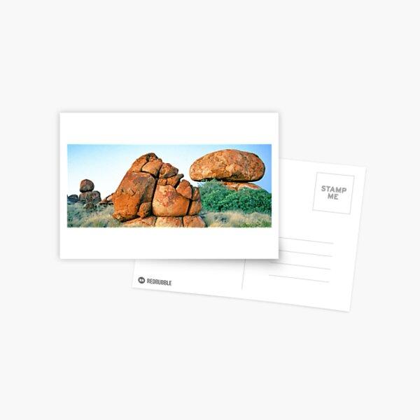Granite Rockforms, Devils Marbles Postcard