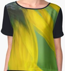 Sunflower Abstract Chiffon Top