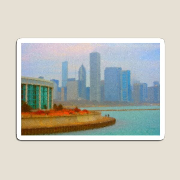 A Walk on the Lakefront Magnet