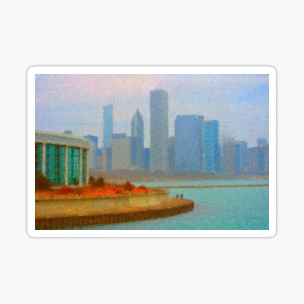 A Walk on the Lakefront Sticker
