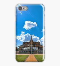 Phnom Pehn Grand Palace nice day time iPhone Case/Skin