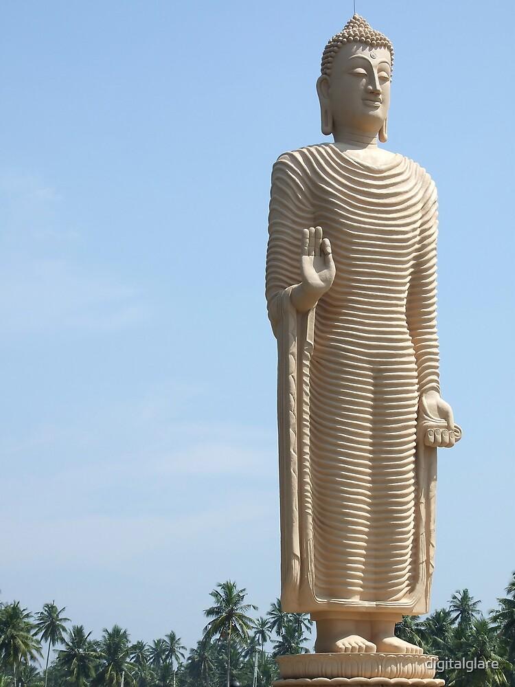 Buddha Statue - Sri Lanka by digitalglare