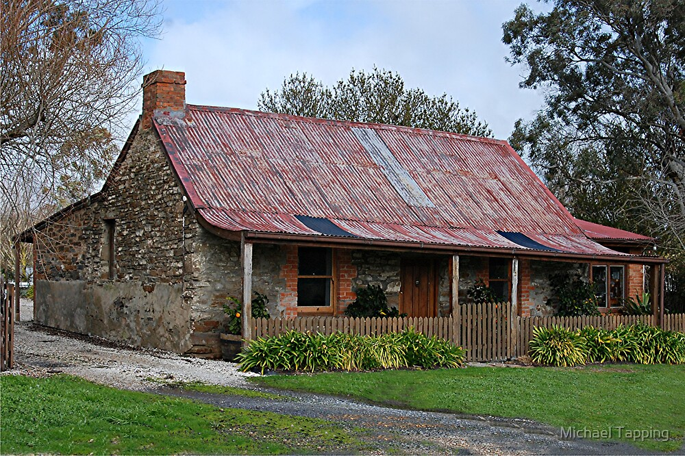 """""""Old Cottage""""  - Mount Torrens - South Australia by Michael Tapping"""