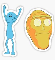 Mr. Meeseeks / Show Me What You Got - Rick and Morty Sticker
