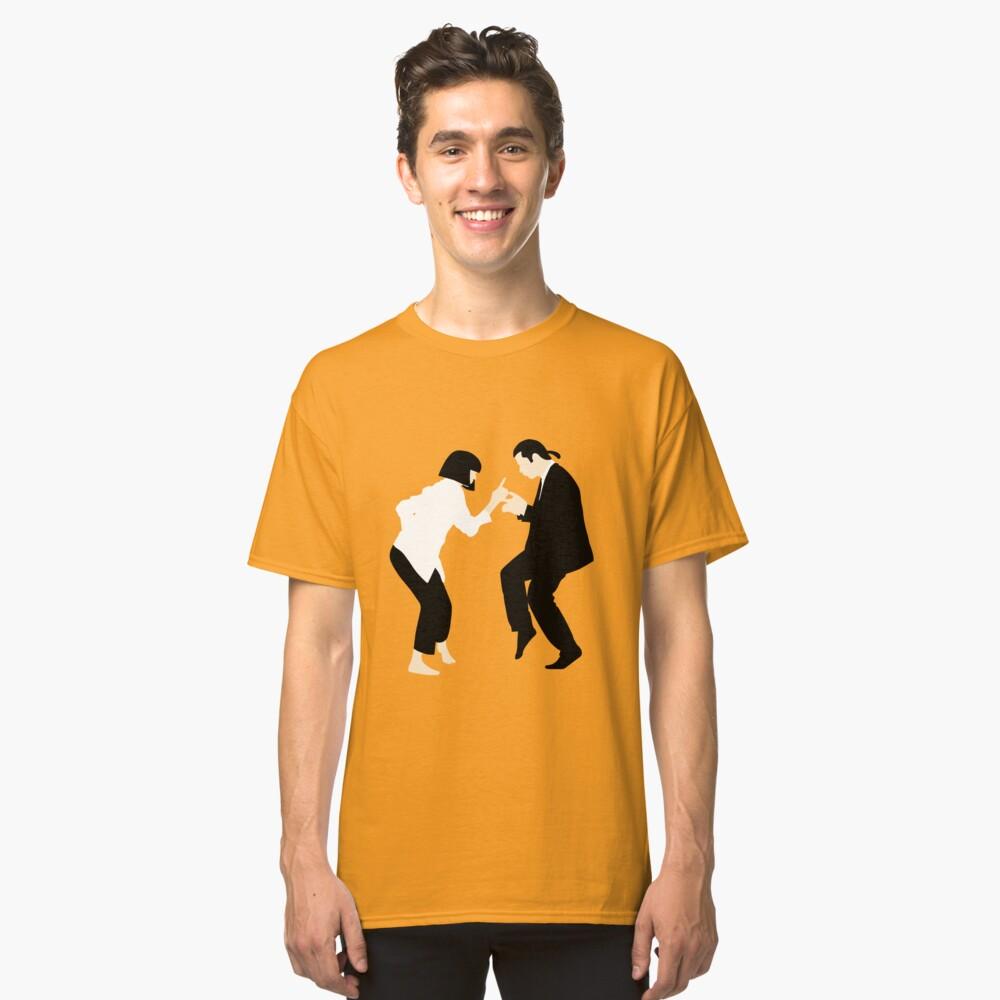 Pulp Fiction // Jack Rabbit Slim Restaurant Tanz Szene // einzigartige minimalistische Design Classic T-Shirt