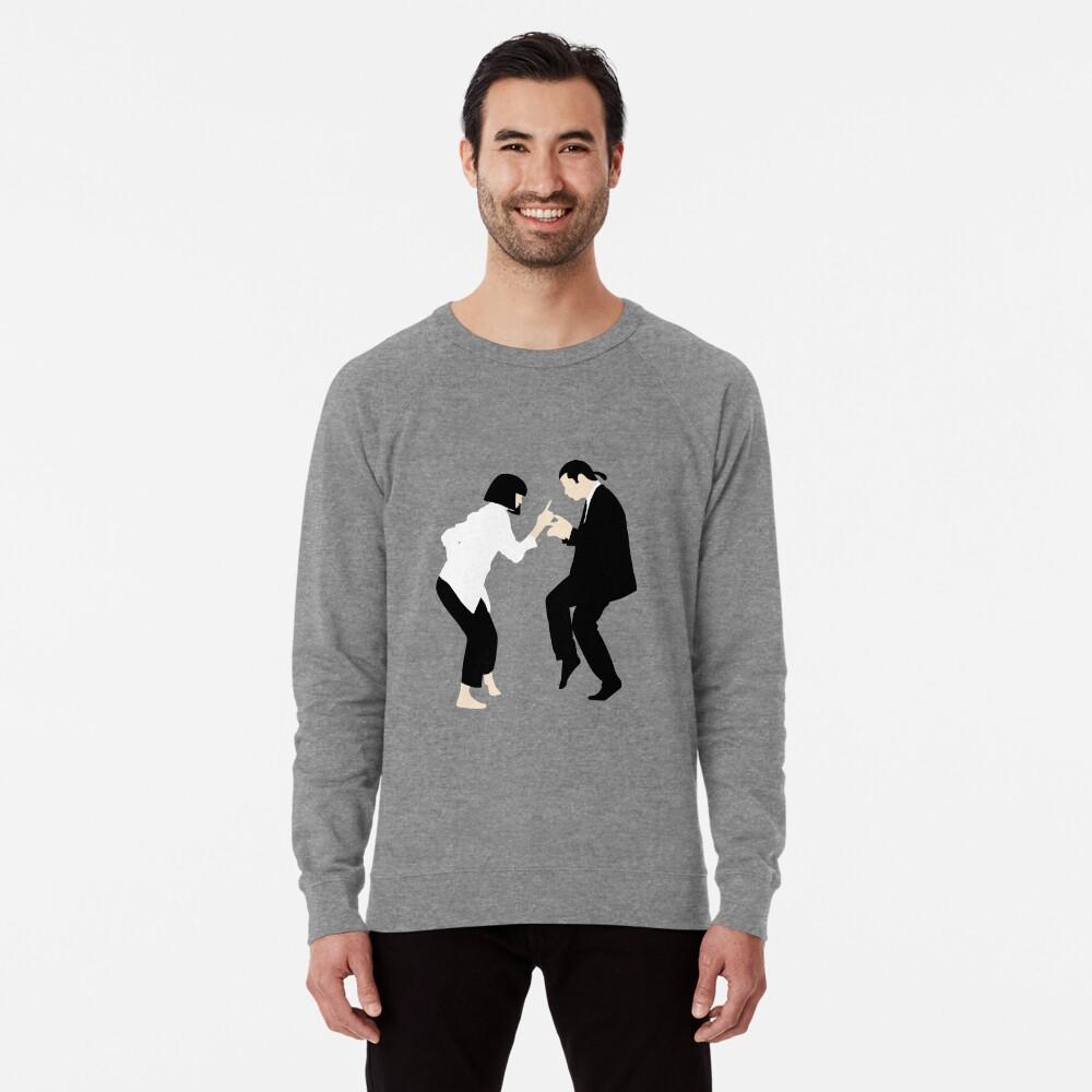 Pulp Fiction // Jack Rabbit Slim Restaurant Tanz Szene // einzigartige minimalistische Design Leichter Pullover
