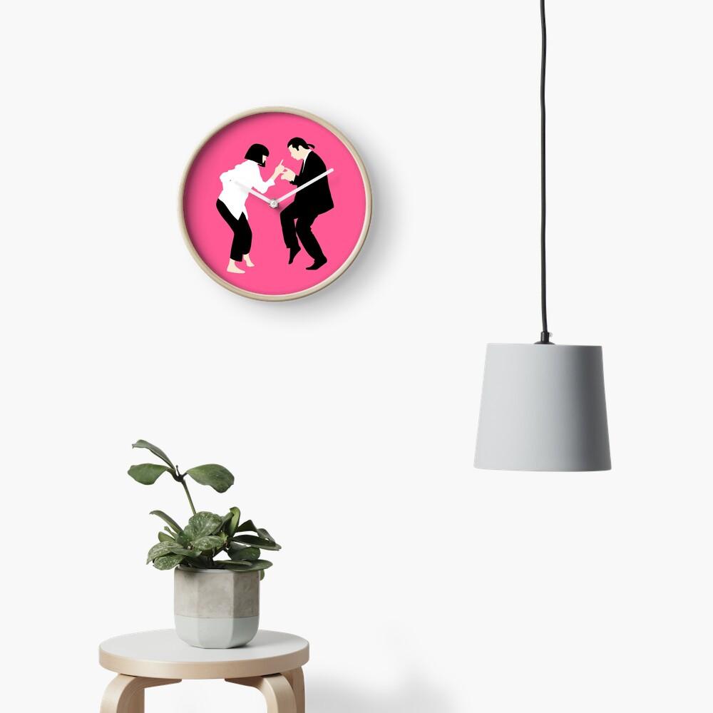 Pulp Fiction // Jack Rabbit Slim Restaurant Tanz Szene // einzigartige minimalistische Design Uhr