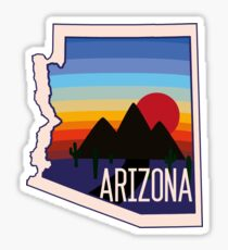 Arizona Sticker Sticker