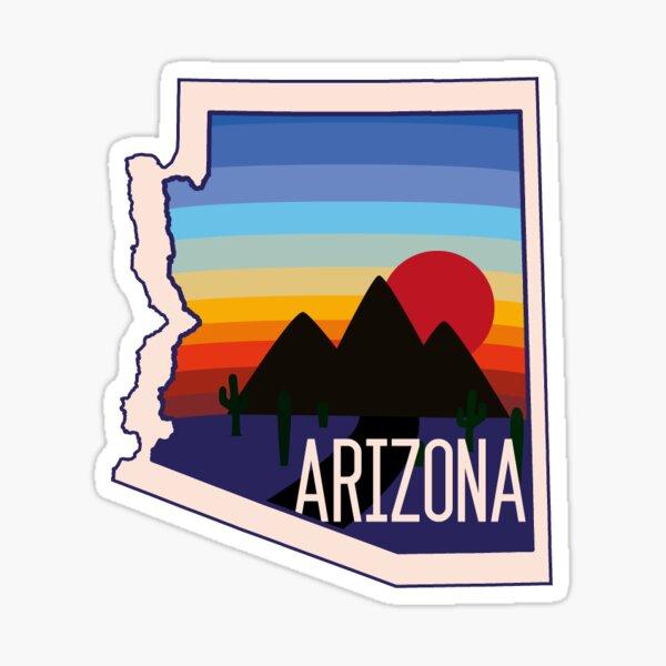 Arizona Sticker Sticker