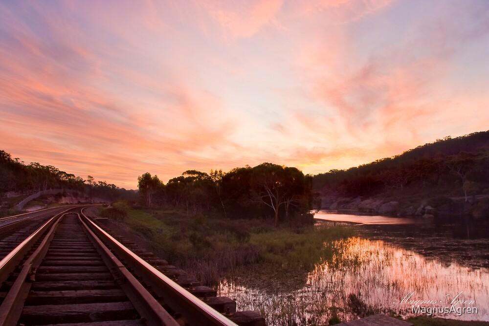 Tallong Sunset by MagnusAgren