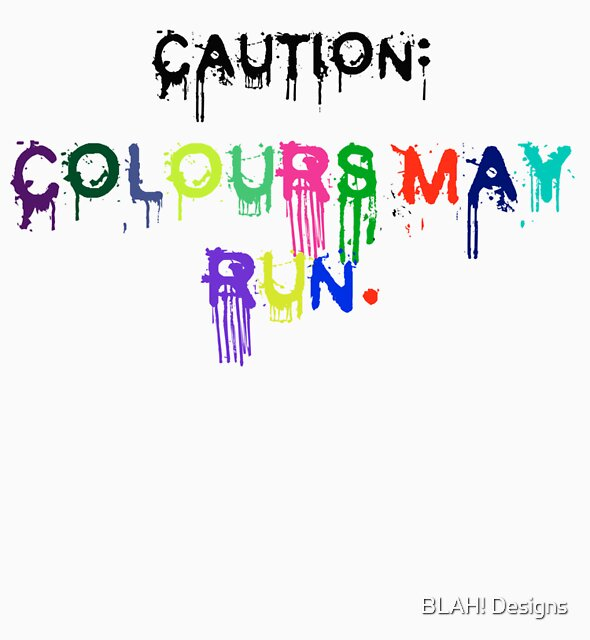Caution by BLAH! Designs
