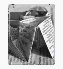 Paper Boat iPad Case/Skin