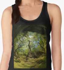 Ness Glen, Mystical Irish Wood Women's Tank Top