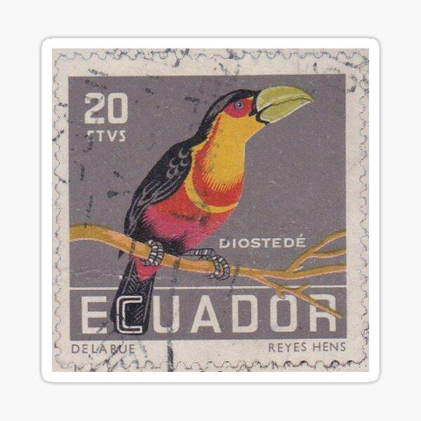 Pegatina Sello Ecuador Pegatina