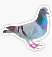 Lowpoly Pigeon Sticker