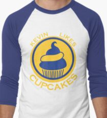 Kevin Likes Cupcakes (Yellow/Blue) T-Shirt