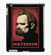 Nietzsche Print iPad Case/Skin