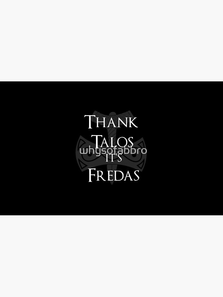 Danke Talos, es ist Fredas von whysofabbro