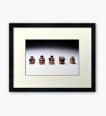 Vacro Series: 51 of 105 Framed Print