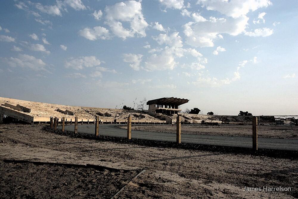 Iraqi Stadium by James Harrelson