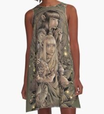 The Great Conjunction A-Line Dress