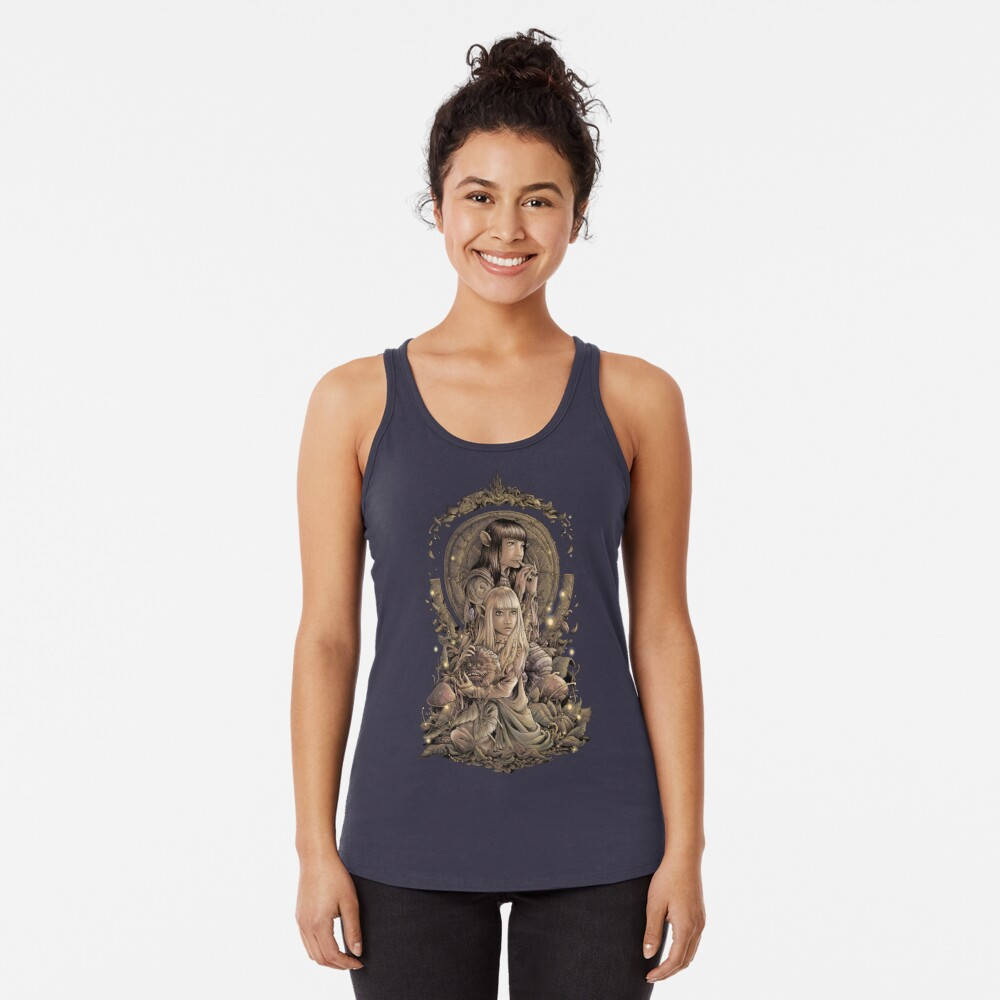The Great Conjunction Racerback Tank Top