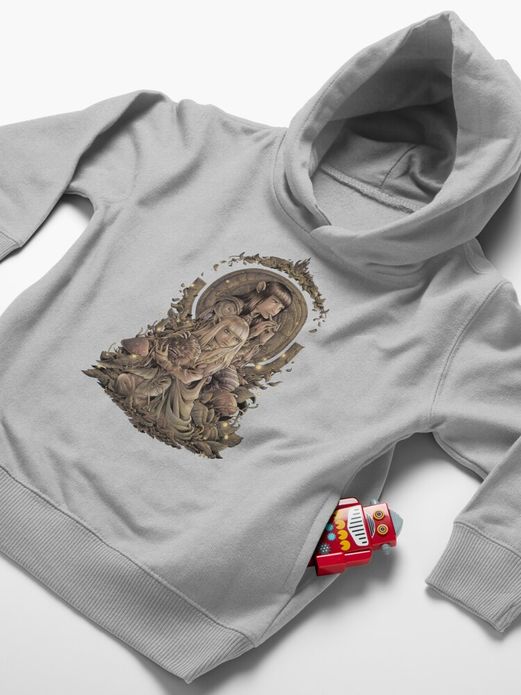 Alternate view of The Great Conjunction Toddler Pullover Hoodie