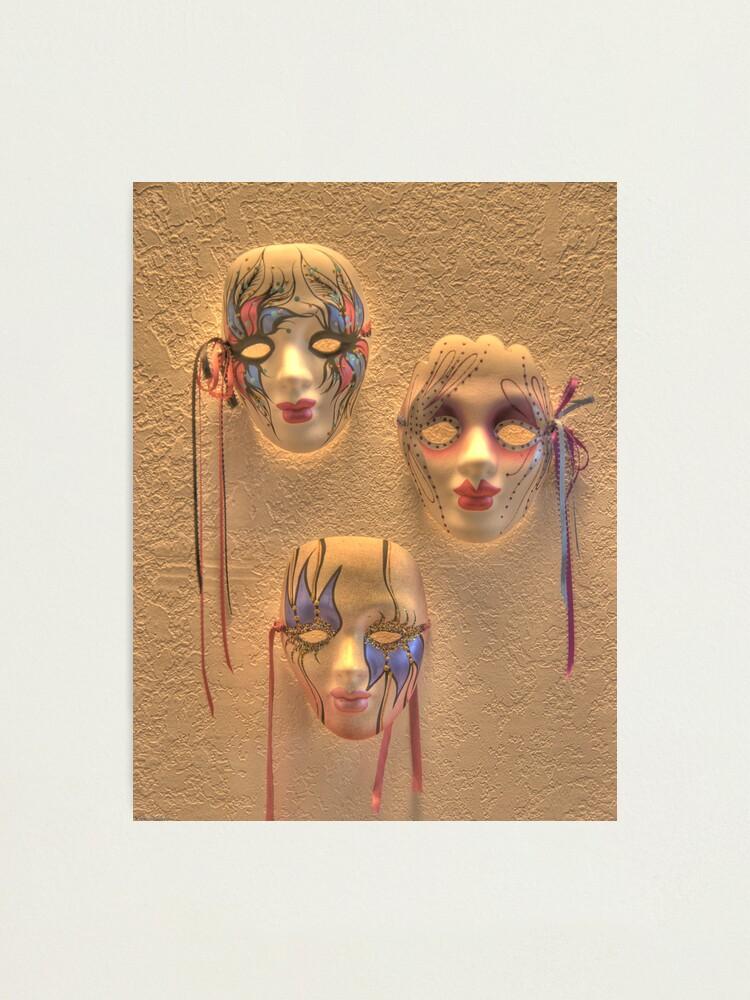 Alternate view of Masquerade Photographic Print