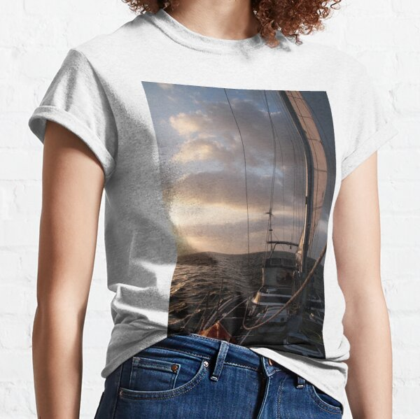 Capricorn Sunset. Classic T-Shirt