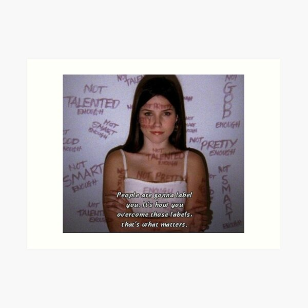 Brooke Davis Quote Art Print