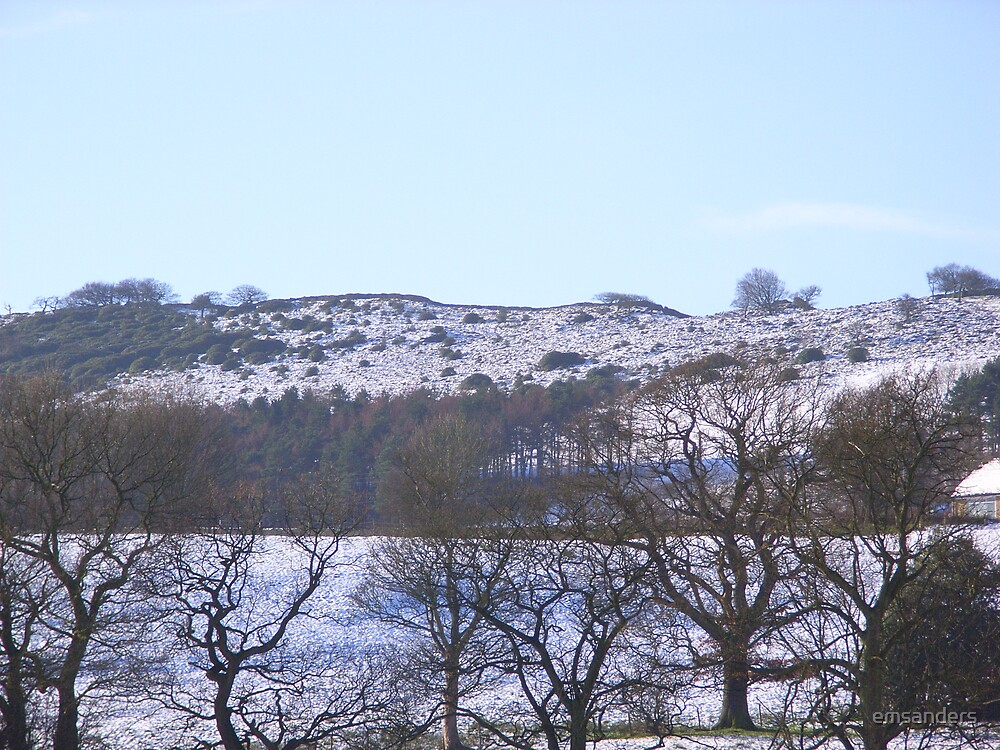 Derbyshire winter by emsanders