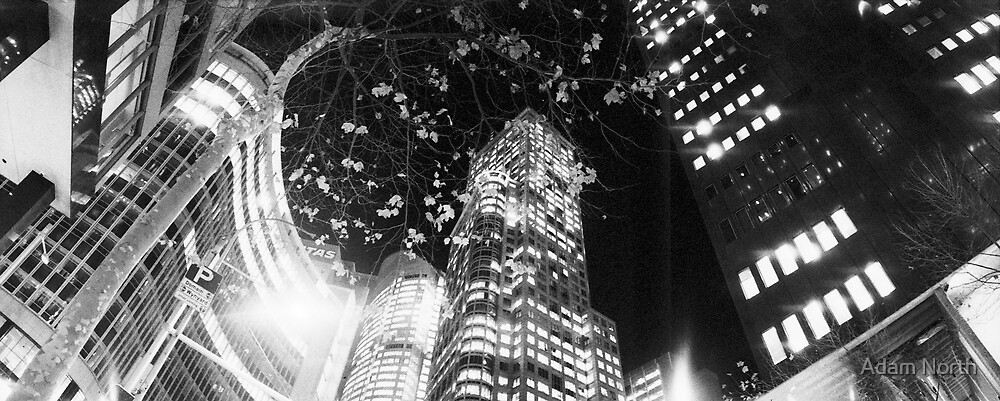 Chifley lights by Adam North