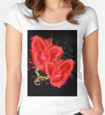 VALENTINE'S PROMISES Women's Fitted Scoop T-Shirt
