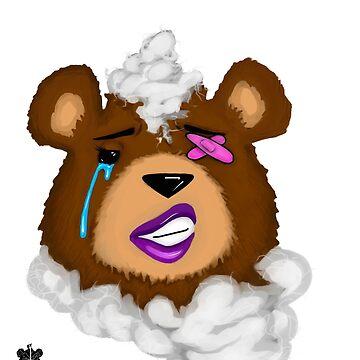 (female) damaged teddy by ARTbySTRW