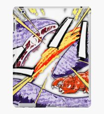 Charmelon V. Arbok - Pokemon Adventure Manga iPad Case/Skin