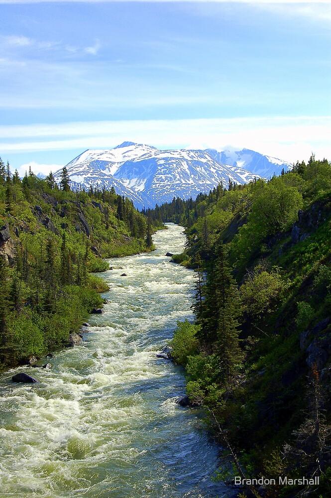 The Skies of Yukon Canada by Brandon Marshall