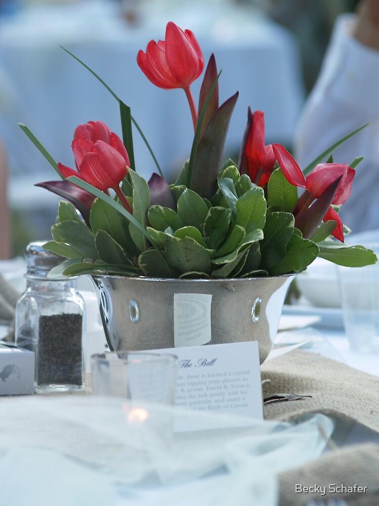 Wedding Floral Arrangement...  by Becky Schafer