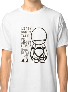 Marvin - The Hitchhiker's Guide to the Galaxy Classic T-Shirt