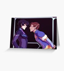 Flirt - klance Greeting Card