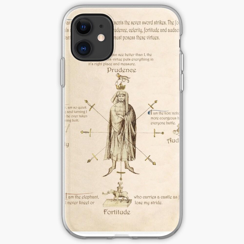 Fiore dei Liberi Getty Segno (English) iPhone Case & Cover